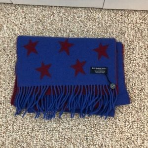 Burberry London Lambswool Scarf
